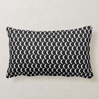 Fish Scale Pattern American MoJo Pillow Lumbar Throw Cushions