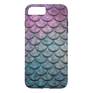 Fish Scales Pattern Multi Colour 4 iPhone 7 Plus Case