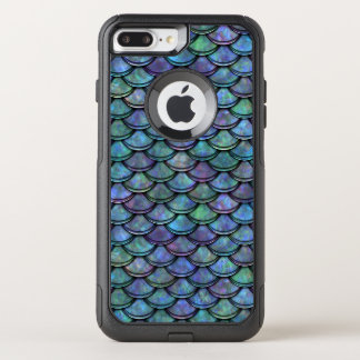 Fish Scales Pattern Multi Colour 5 OtterBox Commuter iPhone 7 Plus Case