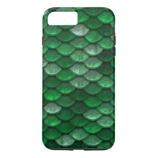 Fish Scales Pattern Shimmer Greens iPhone 8 Plus/7 Plus Case