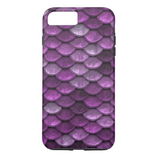 Fish Scales Pattern Shimmer Purples iPhone 7 Plus Case
