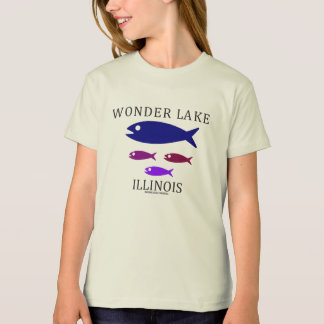 Fish School Girls' American Apparel Organic TShirt
