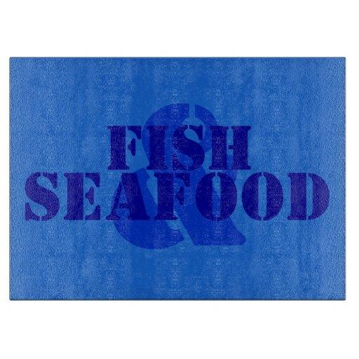 Fish & Seafood Cutting Board