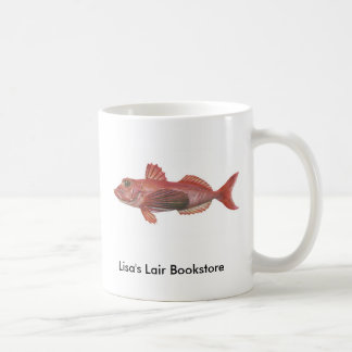 Fish - Sharp-Beaked Gurnard Bookstore Promo Coffee Mug