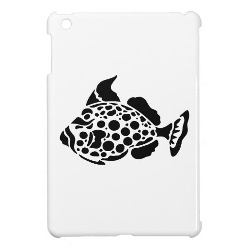 Fish Silhouette iPad Mini Covers
