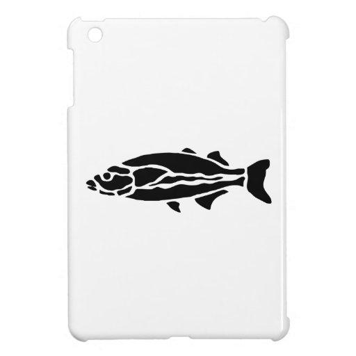 Fish Silhouette iPad Mini Cover