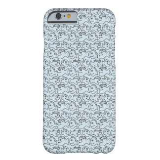 Fish Sillies Blue Phone Case