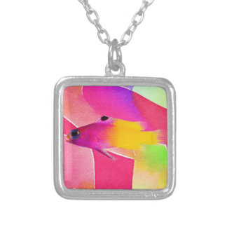 Fish Silver Plated Necklace