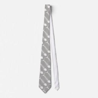 Fish Skeleton Necktie