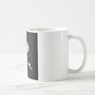Fish Skull Design Coffee Mug