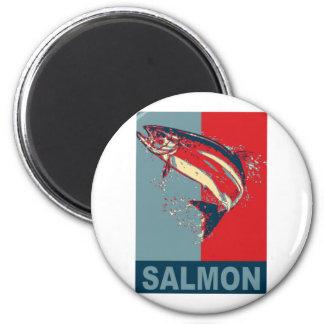 Fish Species Iconized like obama 6 Cm Round Magnet