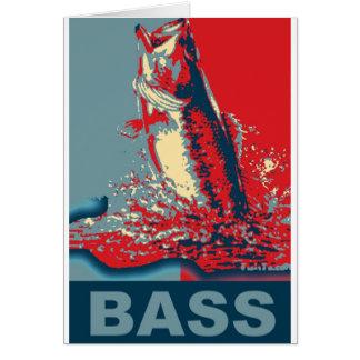 Fish Species Iconized like obama Greeting Card