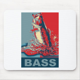 Fish Species Iconized like obama Mouse Pad