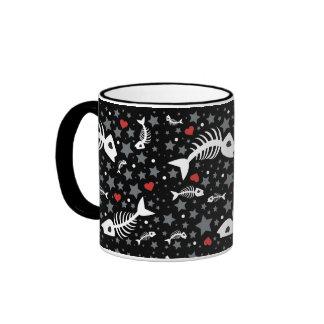 Fish Star Ringer Mug