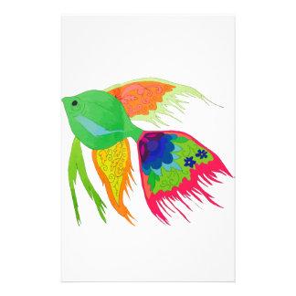 Fish Stationery