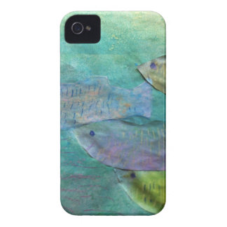 fish swimming about iPhone 4 Case-Mate case