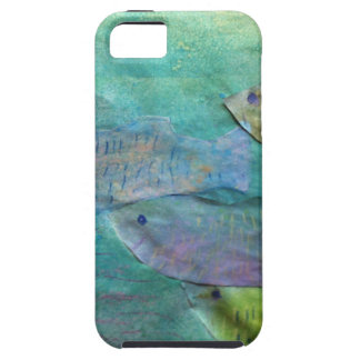 fish swimming about iPhone 5 cover