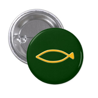 Fish symbol pin