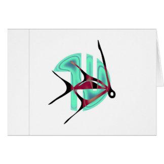 Fish Symbol Greeting Card