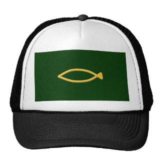 Fish symbol hat