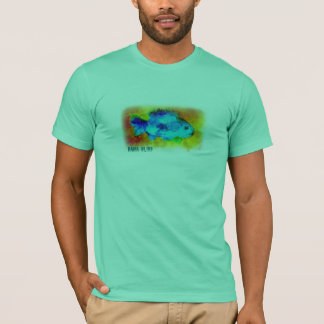 "Fish T-shirt ""Bama Bliss"""