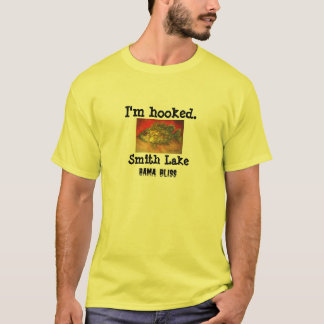 "Fish T-shirt ""Smith Lake"" Alabama"