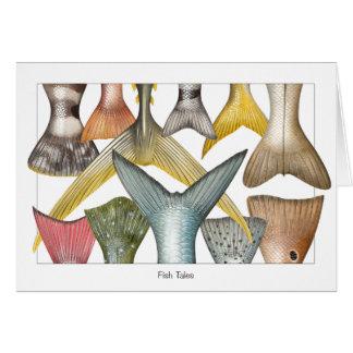 Fish tales card