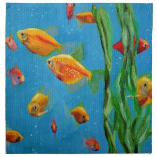 Fish Tank Napkin