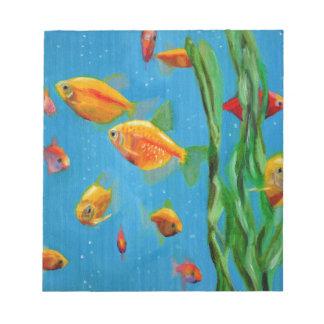 Fish Tank Notepad