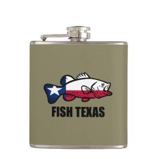 Fish Texas Hip Flask