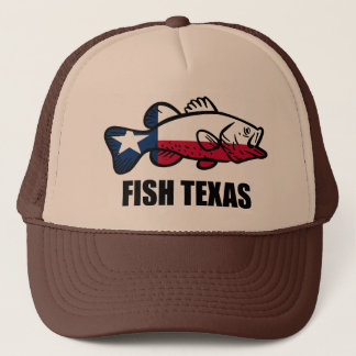 Fish Texas Trucker Hat