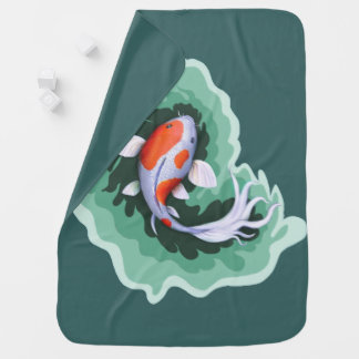 Fish Themed Baby Blanket