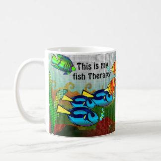 Fish Therapy Coffee Mug