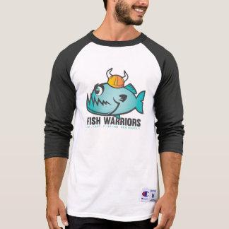 Fish Warriors 3/4 Sleeve Raglan T-Shirt
