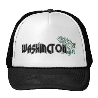 FISH WASHINGTON VINTAGE LOGO CAP