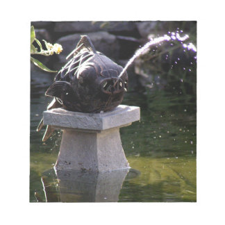 Fish Water Feature Notepad