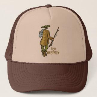 Fish Whisperer Fishing Trucker Hat