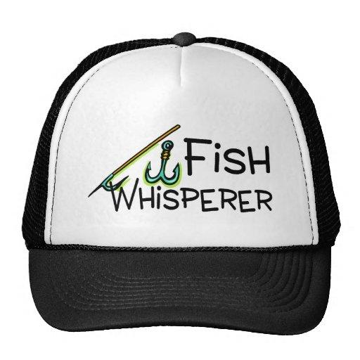 Fish Whisperer Mesh Hat