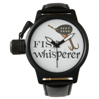 Fish Whisperer Wrist Watch