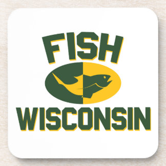 Fish Wisconsin Coaster