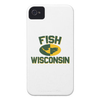 Fish Wisconsin iPhone 4 Case-Mate Case