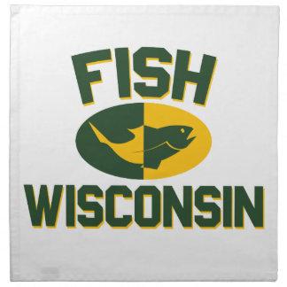 Fish Wisconsin Napkin