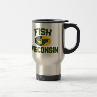 Fish Wisconsin Travel Mug