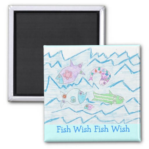 Fish Wish Fridge Magnets