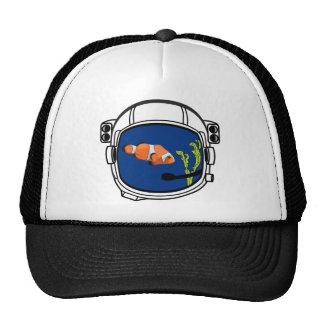 Fishbowl Space Helmet Cap