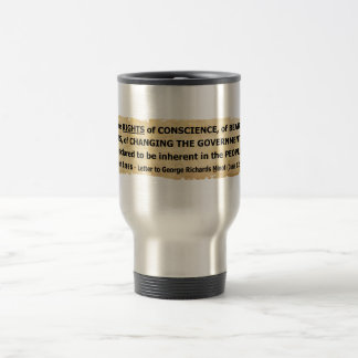Fisher Ames Quote Rights of the People Travel Mug
