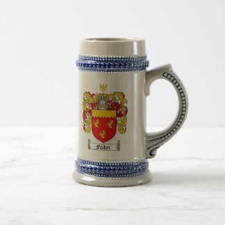 Fisher Coat of Arms Stein / Fisher Family Crest