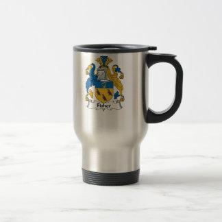 Fisher Family Crest Travel Mug