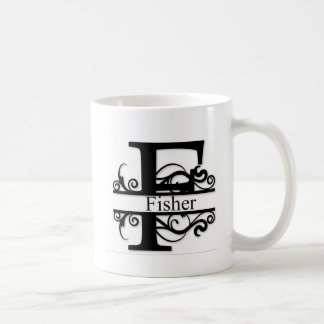 Fisher Monogram Coffee Mug