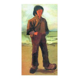 Fisher on the shore by Vincent van Gogh Personalised Photo Card